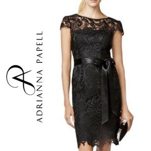 NEW Adrianna Papell dress lace cocktail